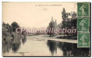 Old Postcard Bords De I'Orb Laverni?re
