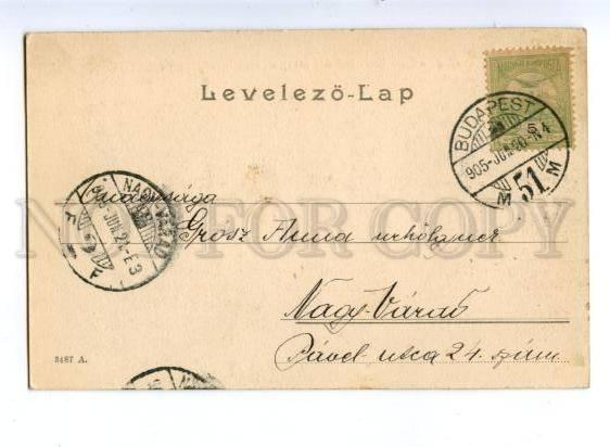 152107 Hungary BUDAPEST Coffee house Margaret Island KAVEHAZ
