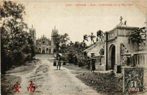 CPA AK INDOCHINA Annam Cathedrale de la Phu Cam VIETNAM (956975)