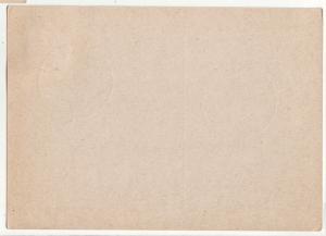 P1183 1939 wwII nazi germany swastikas frankfurt [main] cancel with stamp