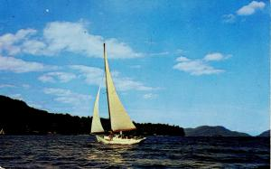 NY - Lake George. Sailing