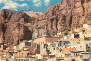 Post card Syria Maaloula Mar Sarkis Convent