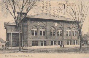 GRANVILLE , New York , PU-1907 ; High School