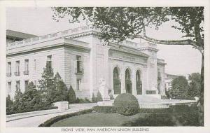 Washington Dc Front View Pan American Union Building