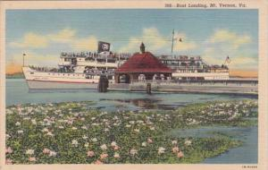 Virginia Mount Vernon Boat Landing Curteich