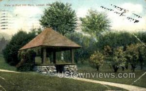 Fort Hill Park Lowell MA 1907
