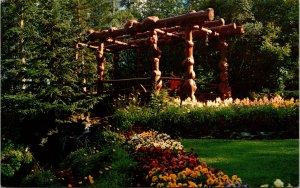 Banff National Park Canada Cascade Rock Gardens Postcard unused 1960s