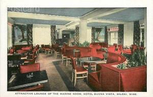 MS, Biloxi, Mississippi, Hotel Buena Vista, Lounge, Gulfport Printing BX51