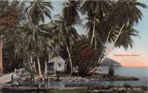 ST ANNS JAMAICA OCHO RIOS~DUPERLY & SON PUBLISHED POSTCARD c1910s