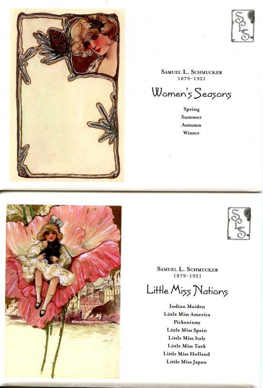 *RARE* Samuel Schmucker Limited Edition Set of 86 Postcards, Mint Condition. ...
