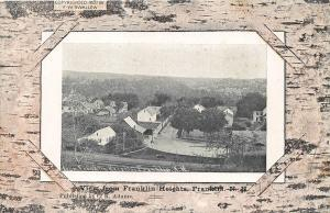 View From Franklin Heights NH published by Frank Swallow Postcard