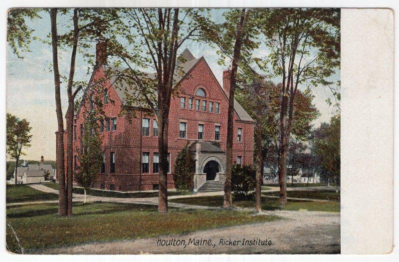Houlton, Maine, Ricker Institute