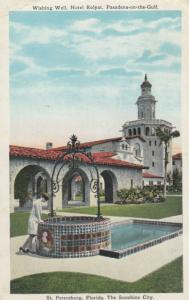 ST. PETERSBURG, Florda, PU-1930; Wishing Well, Hotel Rolyat