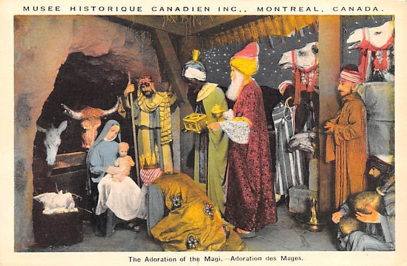 Adoration of the Magi Montreal Unused
