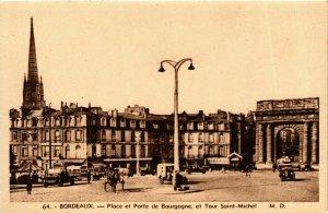CPA BORDEAUX Place et Porte de Bourgogne Tour (982434)