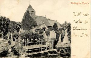 UK - England, Hollington. Church in the Wood (St Leonard's, St Rumbold's)