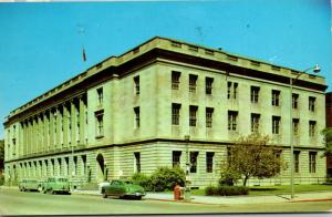 North Dakota Fargo Federal Building and Post Office 1963