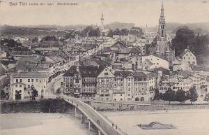 Bridge, Marktstrasse, Bad Tölz Rechts Der Isar (Bavaria), Germany, 1900-1910s