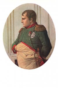 Verestchaguine Napoleon In Peters Palace Painting Postcard