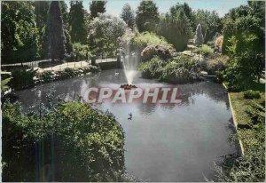 Modern Postcard Vichy Cygnes Basin in major parks