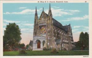 Church St Mary's Roman Catholic Church Stamford Connecticut