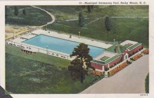 Municipal Swimming Pool, Rocky Mount, North Carolina, 1930-1940s