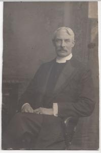 Anonymous Edwardian Gentleman Studio Portrait RP PPC, c 1900's, Owen Of Boscombe