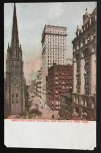 American Surety Building and Broadway New York No. 523