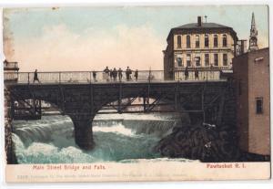 Main St Bridge & Falls, Pawtucket RI