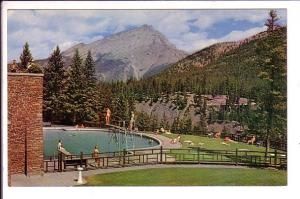 Swimming Pool, Banff Springs Hotel , Alberta, Canada