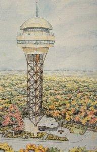 HOT SPRINGS , Arkansas , 50-60s ; Mountain Tower