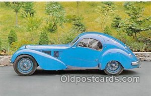 1936 Bugatti Tpe 57SC Green Auto, Car Unused