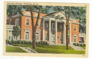 Governor's Mansion, Charleston, WV, 1930-40s