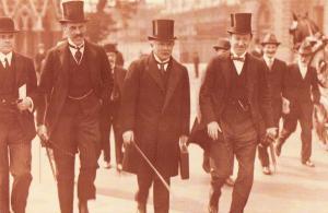 Nostalgia Postcard Chancellor Lloyd George 1914 Reproduction Card #N419