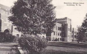 West Virginia Lewisburg Greenbrier Military School Albertype