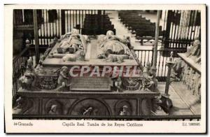 Postcard Modern Granada Capilla Real de los Reyes Catolicos Tumba