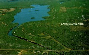 Wisconsin Lake Eau Claire Aerial View