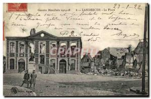 Old Postcard Landrecy Place