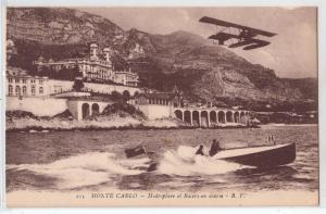 Monte Carlo - Hydroplane et Racers en course
