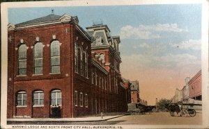 Masonic Lodge And N. Front City Hall, Alexandria, VA