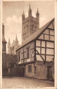 Gloucester Cathedral from Palace Yard