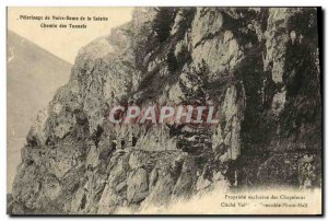 Old Postcard Pilgrimage of Our Lady of La Salette Road Tunnels