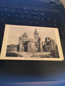 Vintage Postcard: Trier Dom Und Liebfrauenkirche  Church