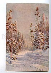 183272 RUSSIA HUNT MURAVIEV Forest Road Vintage Fedorov