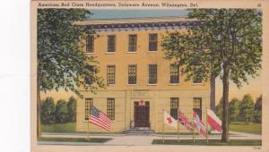 WILMINGTON, Delaware , PU-1942; American Red Cross Headquarters, Delaware Avenue