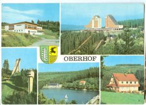 Germany, Oberhof, 1976 used Postcard