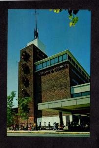 MA Science Park, Boston Museum of Science MASS Massachusetts Postcard