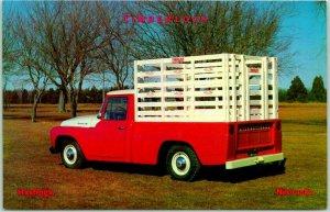 Hastings, Nebraska Ad Postcard TIMBERLOCK ENTERPRISES Farm Truck Conversions