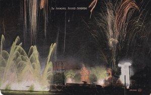 TORONTO, Ontario, Canada, PU-1908; The Fireworks, Toronto Exhibition