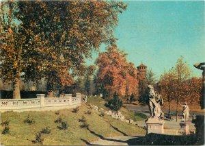 Postcard Italy Torino Valentino Park